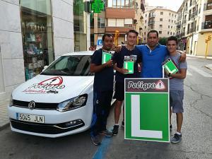 Luís, Julio y Oscar